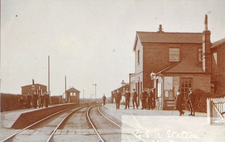 Alice Paige photo fo Histon and Impington Railway Station