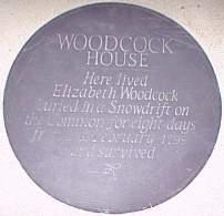 Elizabeth Woodcock Plaque