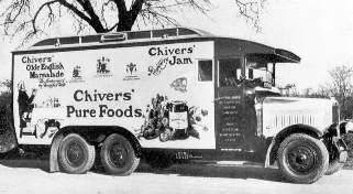 Chivers Leyland Loco Box Van circa 1926