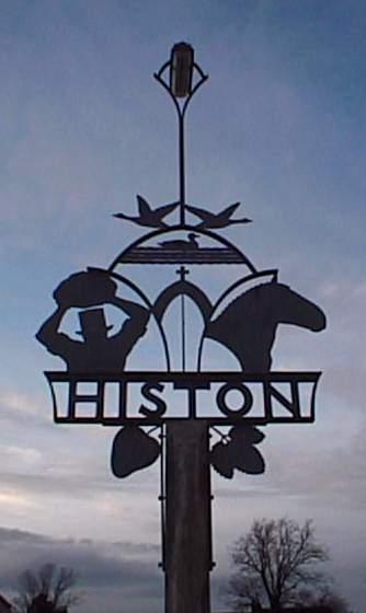 Histon Village Sign