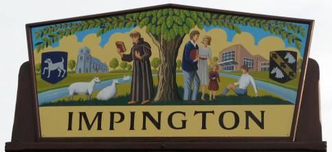 Impington Village Sign
