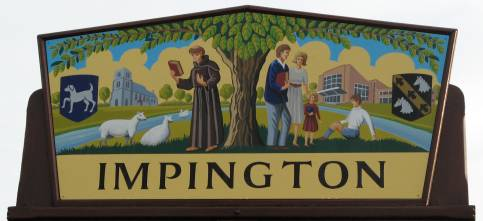 Impington Village Sign