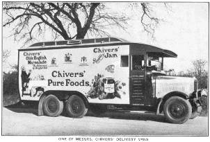 One of Messrs Chivers' delivery vans
