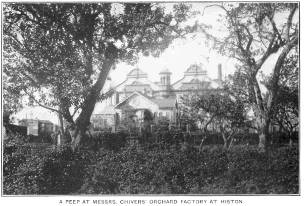 A peep at Messrs Chivers' Orchard Factory at Histon