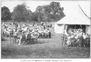 A gala day at Messrs Chivers' Recreation Ground