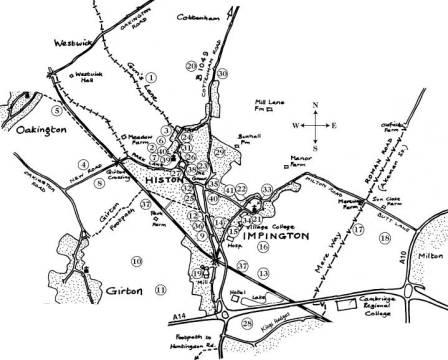 Millennium Committee's Walk Map 2000