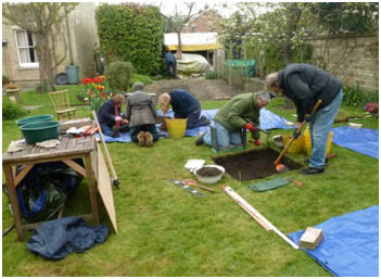Digging the lawn: Histon and Impington Archaeology Project