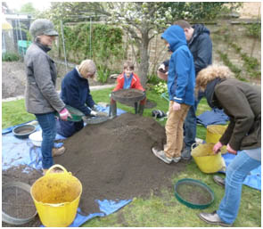 Going through the soil: Histon and Impington Archaeology Project