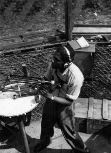 Observer Corps at Meadow Farm Histon c 1940