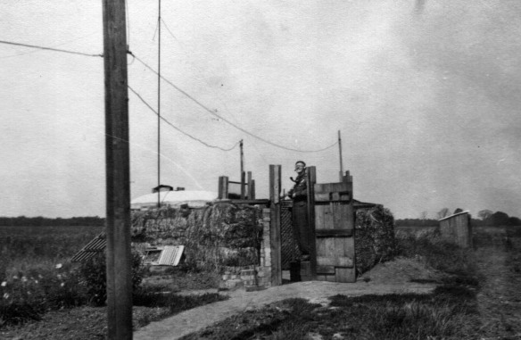 Observer Corps at Meadow Farm Histon c 1943
